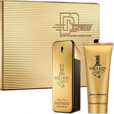 Paco Rabanne One Million 3 Pieces Set 100ml Edt + 10ml Edt+ 150ml Shower GelFor Men