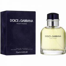 Dolce & Gabbana Pour Homme 75ml Edt Spry Foe Men